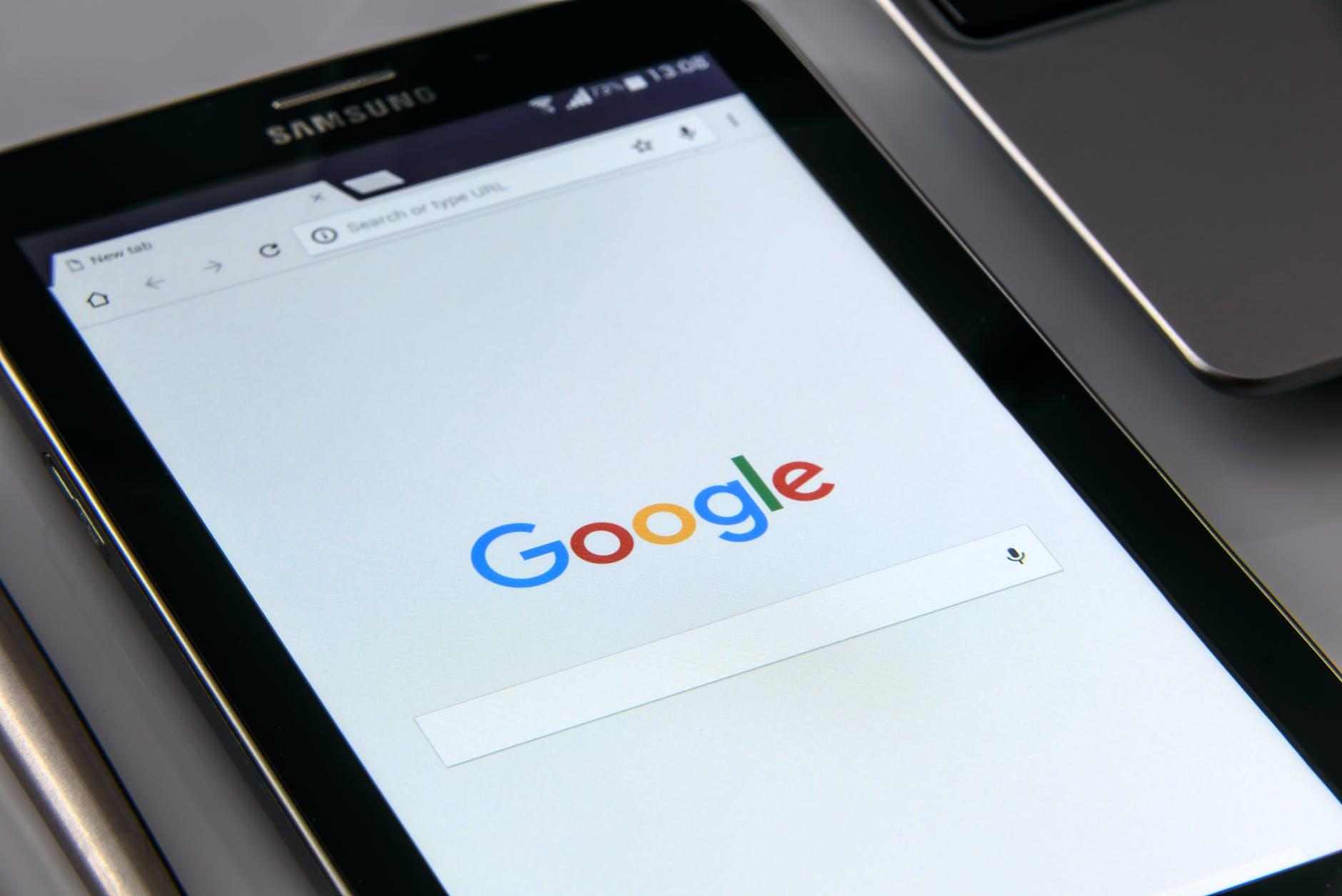 Google, mobil