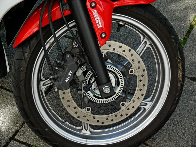 Motorka, koleso